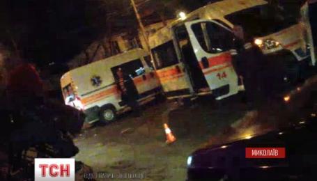 Восемь человек, среди них маленький ребенок, едва не погибли в масштабном ДТП в Николаеве