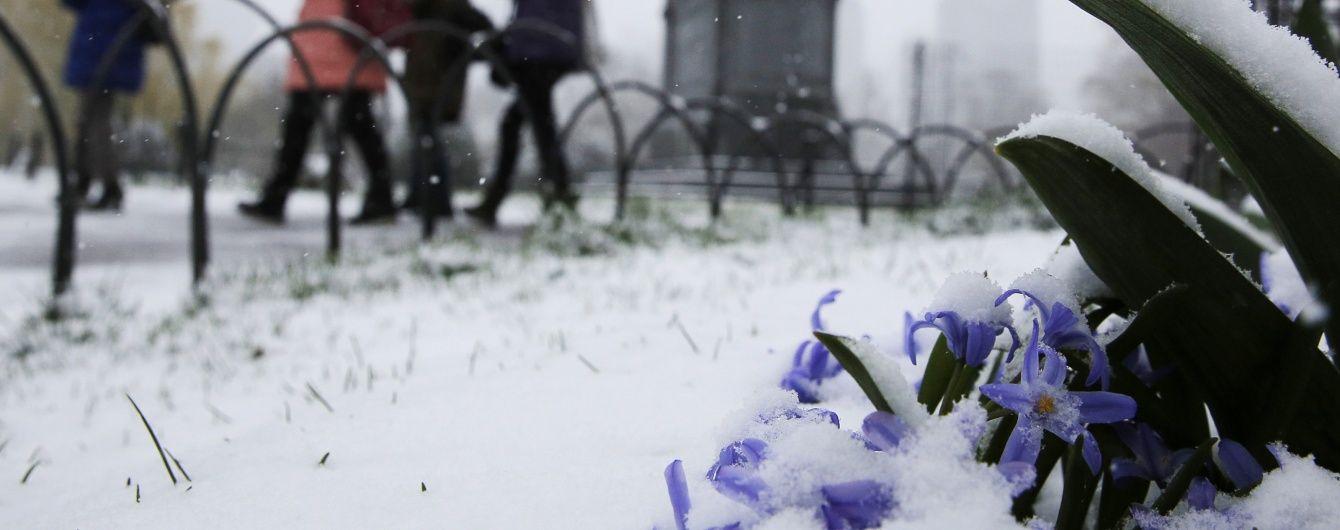У Росії декілька регіонів засипало снігом у перший день літа