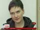 Надія Савченко завтра обіцяє оголосити сухе голодування