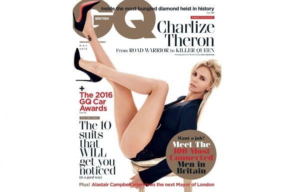 Шарліз Терон для GQ_1
