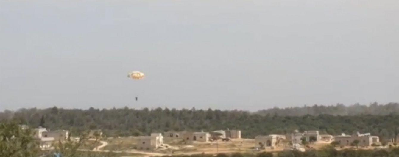 Бойовики полонили пілота збитого сирійського літака