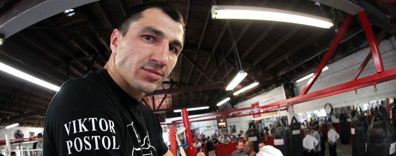 Український боксер Постол може провести дебютний захист пояса в середині літа