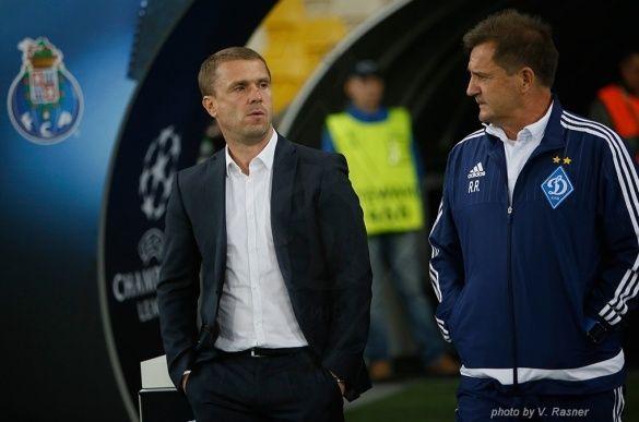 Сергій Ребров і Рауль Ріанчо