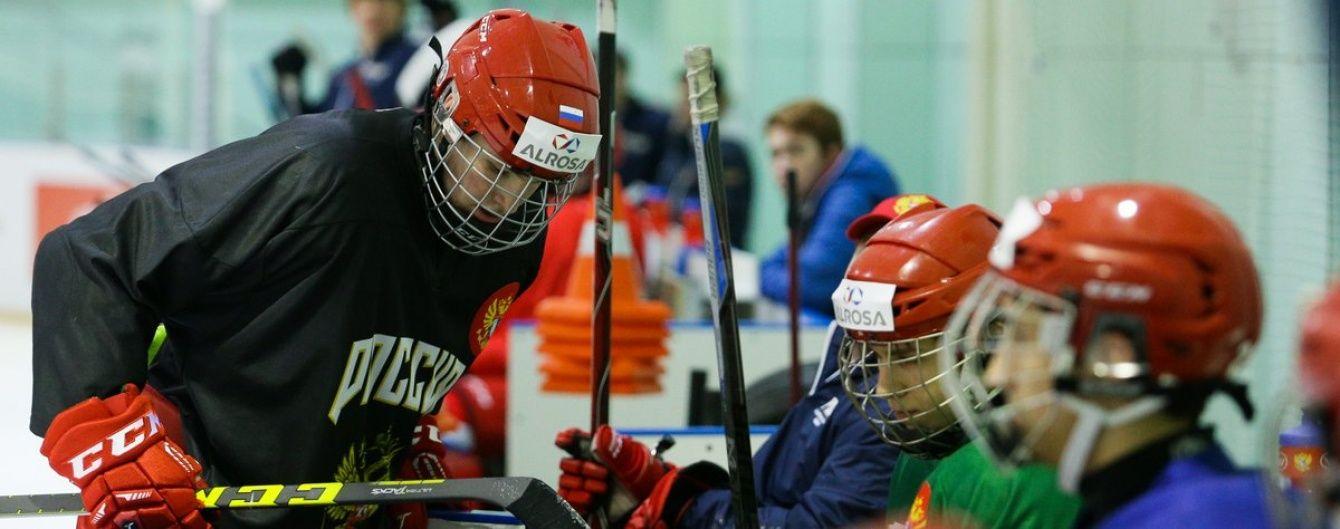 Юнаки збірної Росії з хокею упіймалися на допінгу