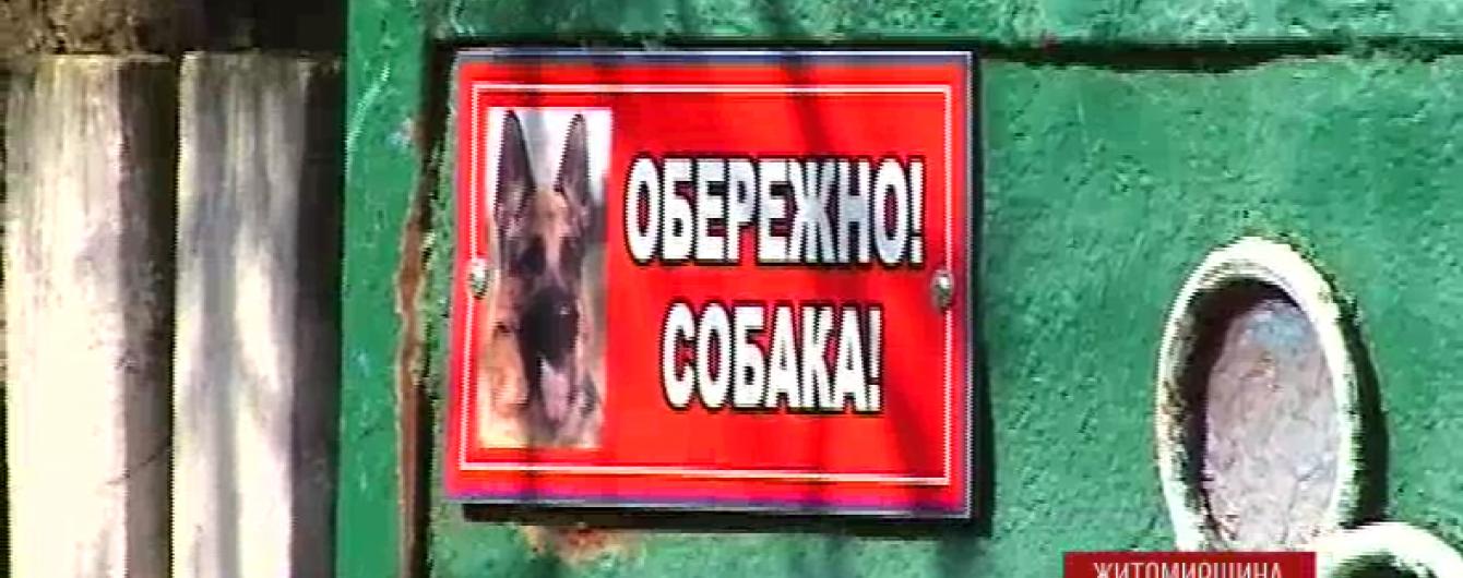 На Житомирщині оскаженілий пес на смерть загриз 1,5-річну дівчинку