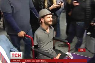 В Україну прилетів легендарний Нік Вуйчич