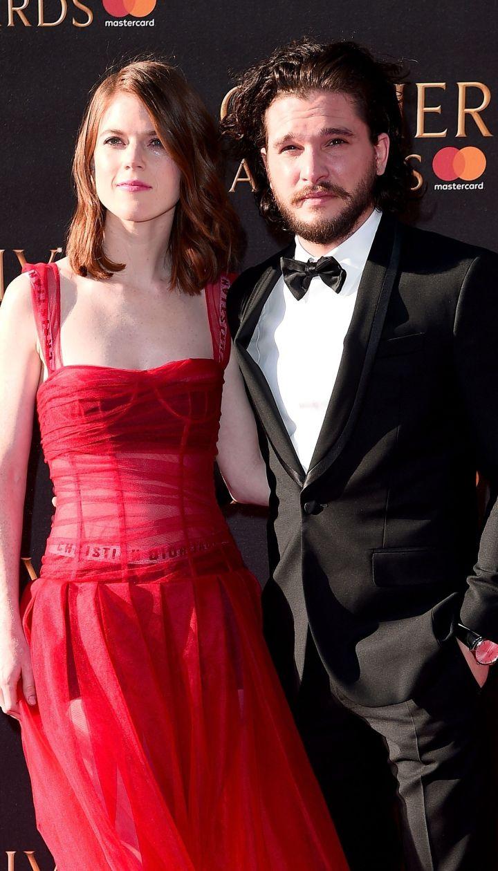 Роуз Лесли и Кит Харингтон / © Getty Images