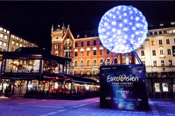 Євробачення скульптура у Стокгольмі
