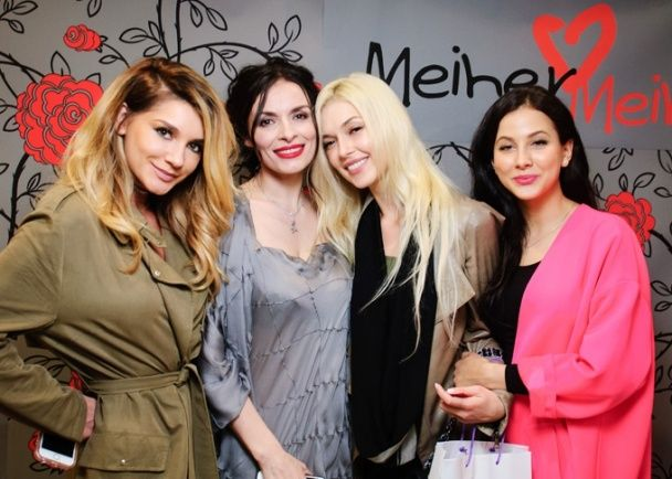 """Стильні солістки """"ВІА Гри"""" завітали на відкриття бутику Надії Мейхер в центрі Києва"""