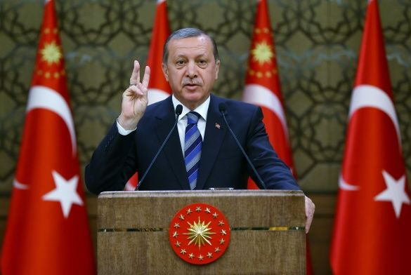 Реджеп Ердоган, Турція