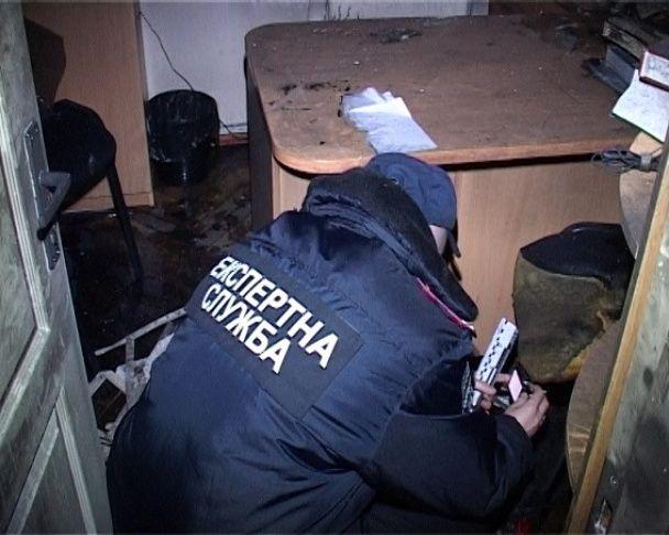 Поліція оприлюднила фото згорілого кабінету судді у справі ГРУвців у Києві