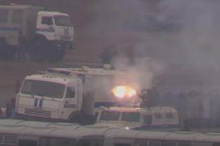 Російські ЗМІ показали, як новостворена Нацгвардія буде боротися з масовими протестами