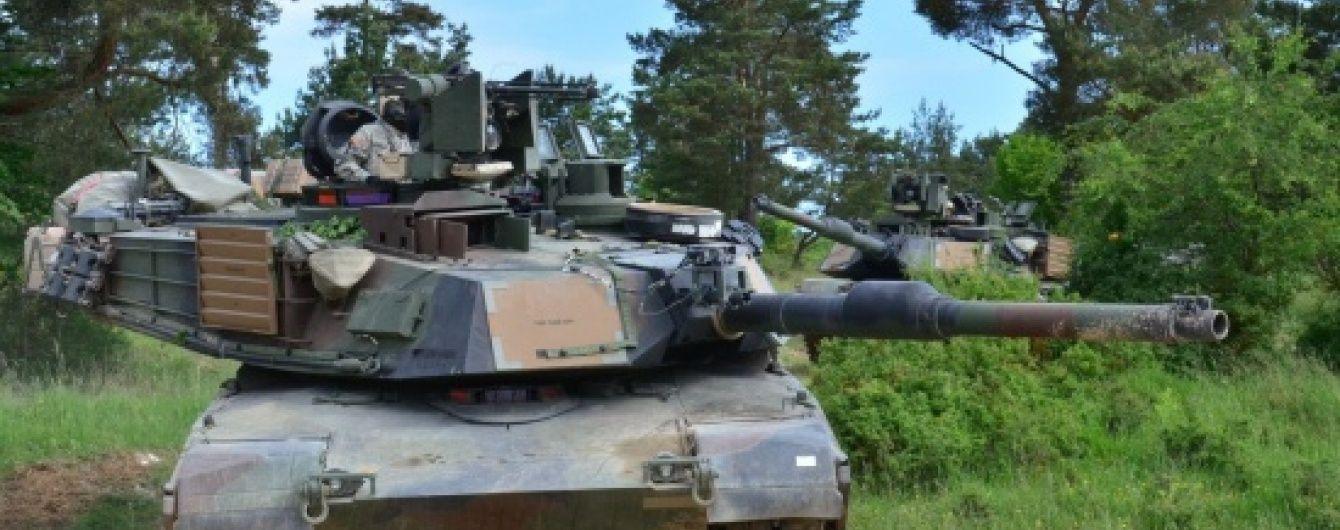 США розкрили плани по розміщенню в Естонії своєї танкової роти