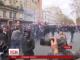 В центрі Парижу марш профспілок закінчився сутичками із поліцією