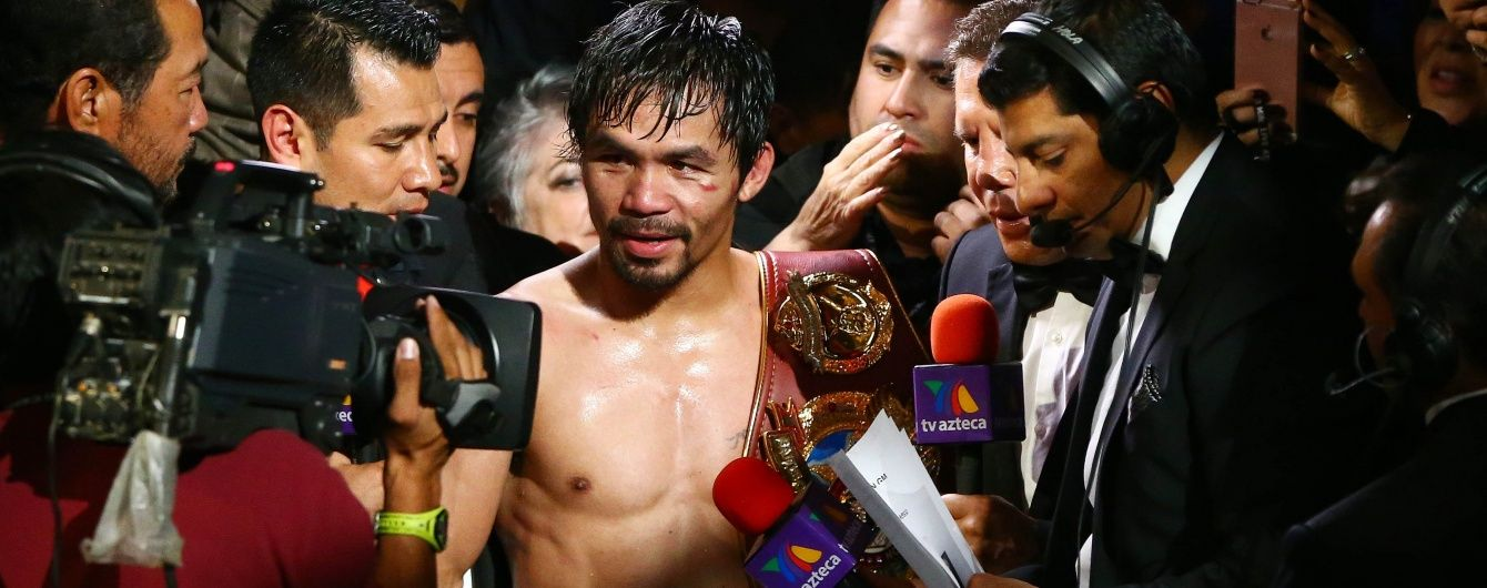 Легендарного боксера Пакьяо вибрали до парламенту Філіппін