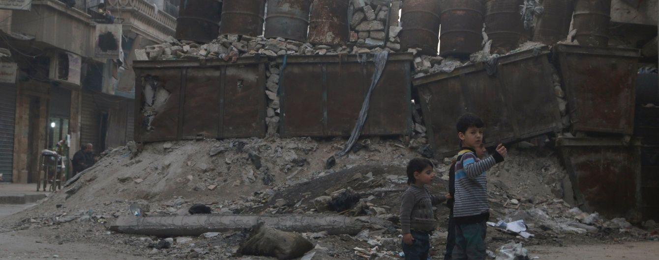 Щонайменше 26 осіб загинуло в сирійському Алеппо