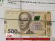 Нова банкнота номіналом п'ятсот гривень відсьогодні з'явиться в обігу