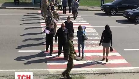 На Харьковщине люди блокировали трассу в столицу