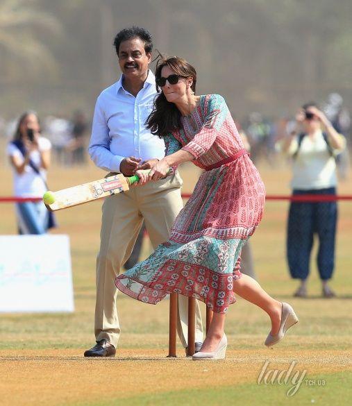 Герцогиня Кембриджская и принц Уильям в Индии_2