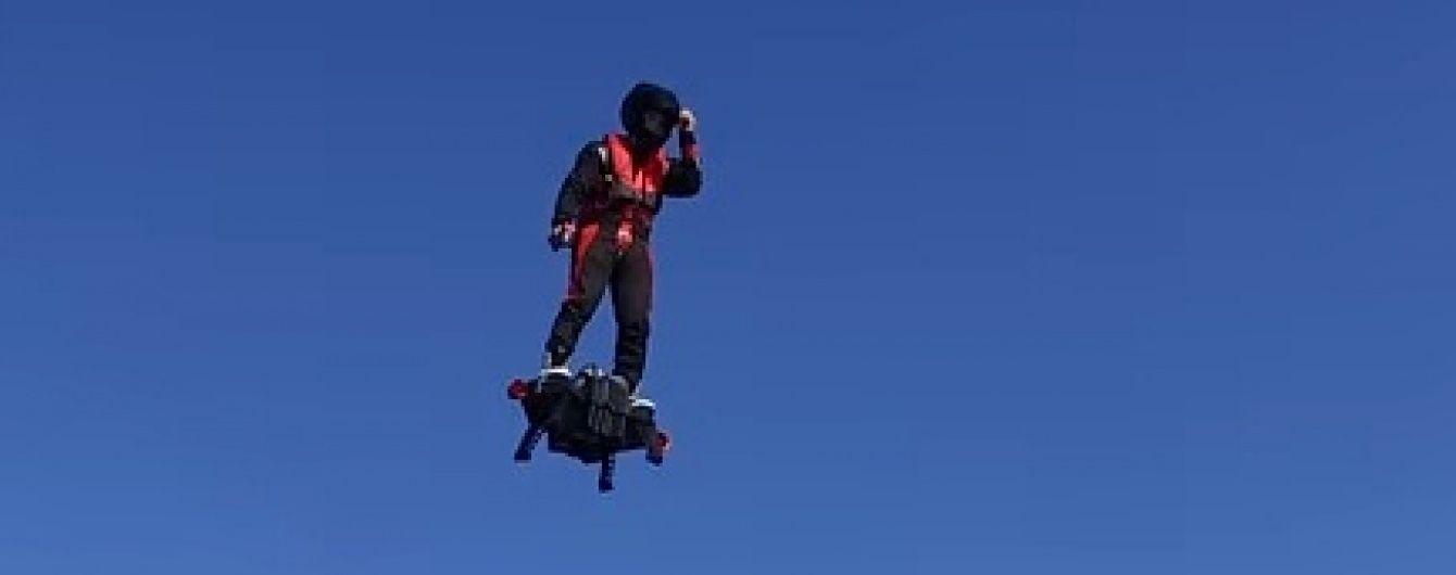 У Мережі з'явилося відео успішного випробування дошки, що літає