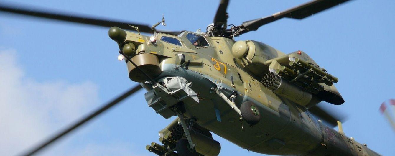 У Сирії розбився російський гелікоптер, екіпаж загинув