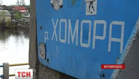 Річку Хомора на Житомирщині отруїло підприємство з сусідньої Хмельниччини