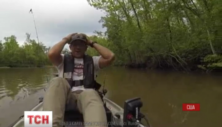 Рибалка в США спіймав алігатора