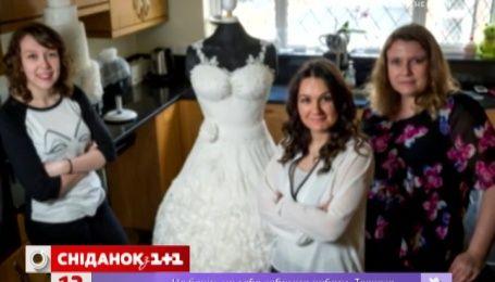 В Великобритании создали первое съедобное свадебное платье