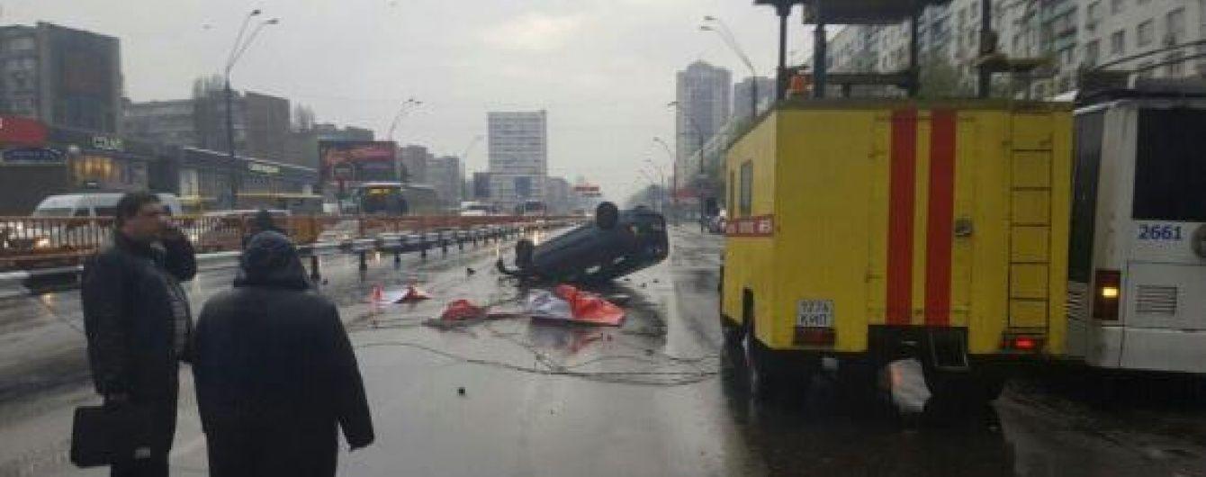 Масштабна ДТП зіпсувала плани на день тисячам киян