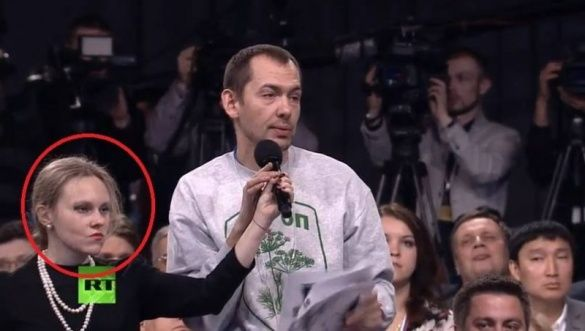 Королева мікрофона, прес-конференція Путіна у 2015 році