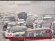 На проспекті Перемоги в Києві аварія спричинила 15-кілометровий затор