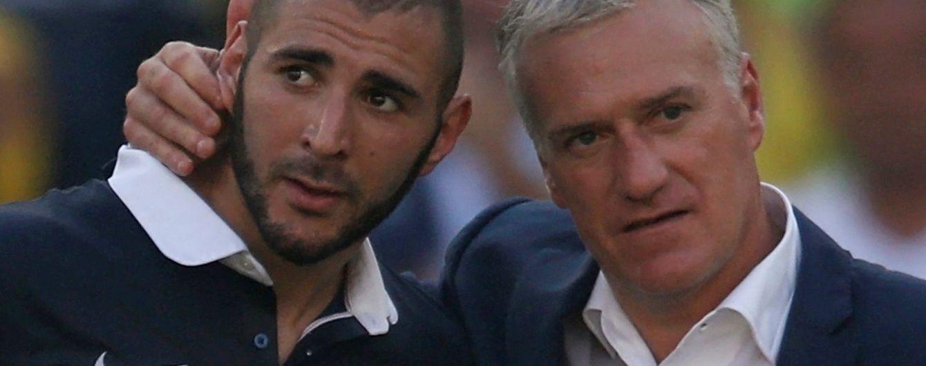 Форвард збірної Франції Бензема пропустить Євро-2016 через секс-скандал