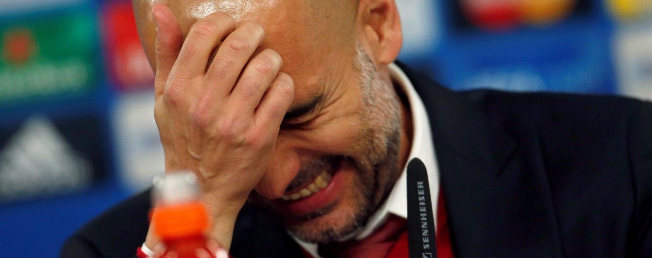 """Тренер """"Баварії"""" Гвардіола потролив Роналду після матчу Ліги чемпіонів"""