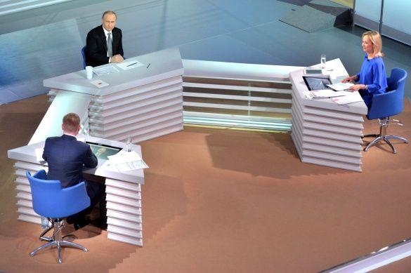 Володимир Путін, РФ, пряма лінія_7