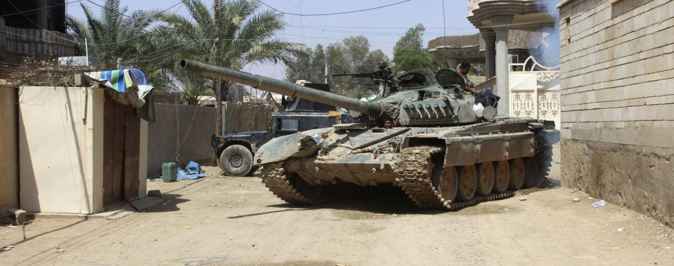 """Іракські військові звільнили від бойовиків """"ІД"""" важливе місто"""