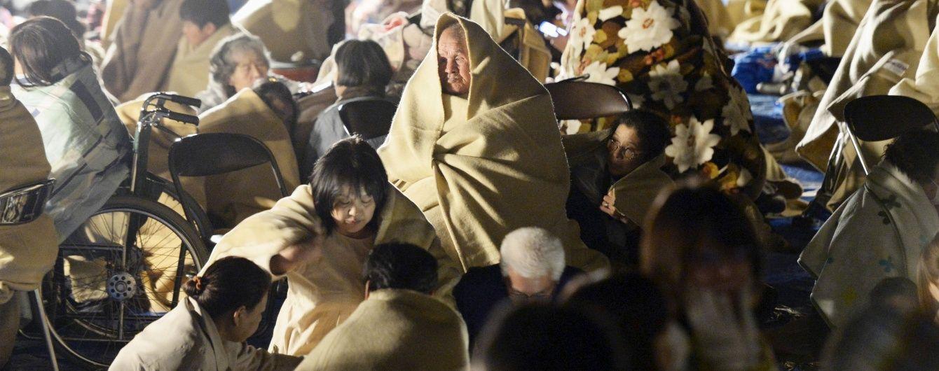 В Японії стався черговий землетрус, є загроза цунамі