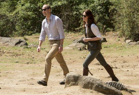 Герцогиня Кембриджская и принц Уильям _1