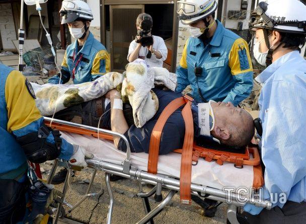 Понад два десятки осіб загинули внаслідок двох потужних землетрусів у Японії