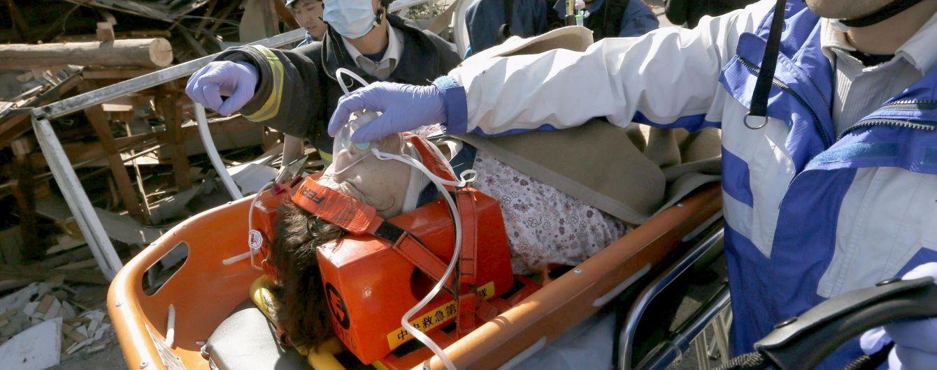 Через землетрус в Японії понад 180 тисяч осіб провели третю ніч в наметах
