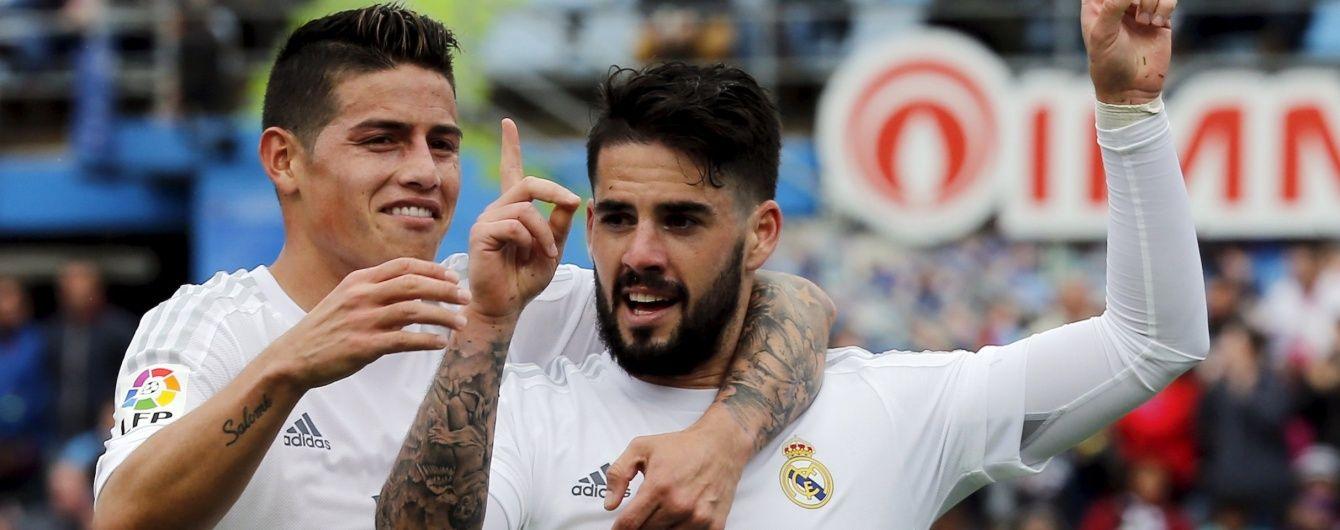 """""""Реал"""" не пожалів """"Хетафе"""" у чемпіонаті Іспанії"""