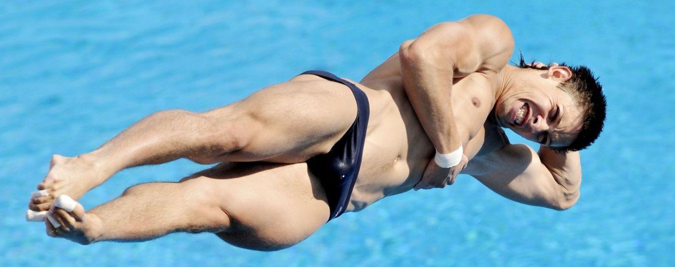 """Українець Кваша здобув """"бронзу"""" на етапі Світової серії зі стрибків у воду"""
