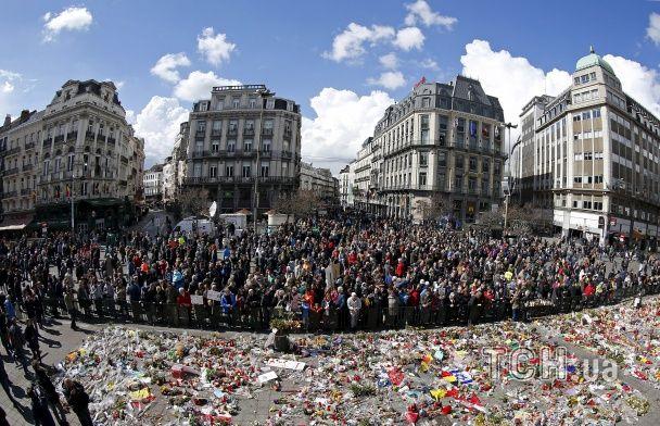 У Брюсселі сім тисяч людей вийшли на марш проти тероризму