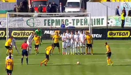 Александрия - Заря - 2:0. Видео голов и моментов матча