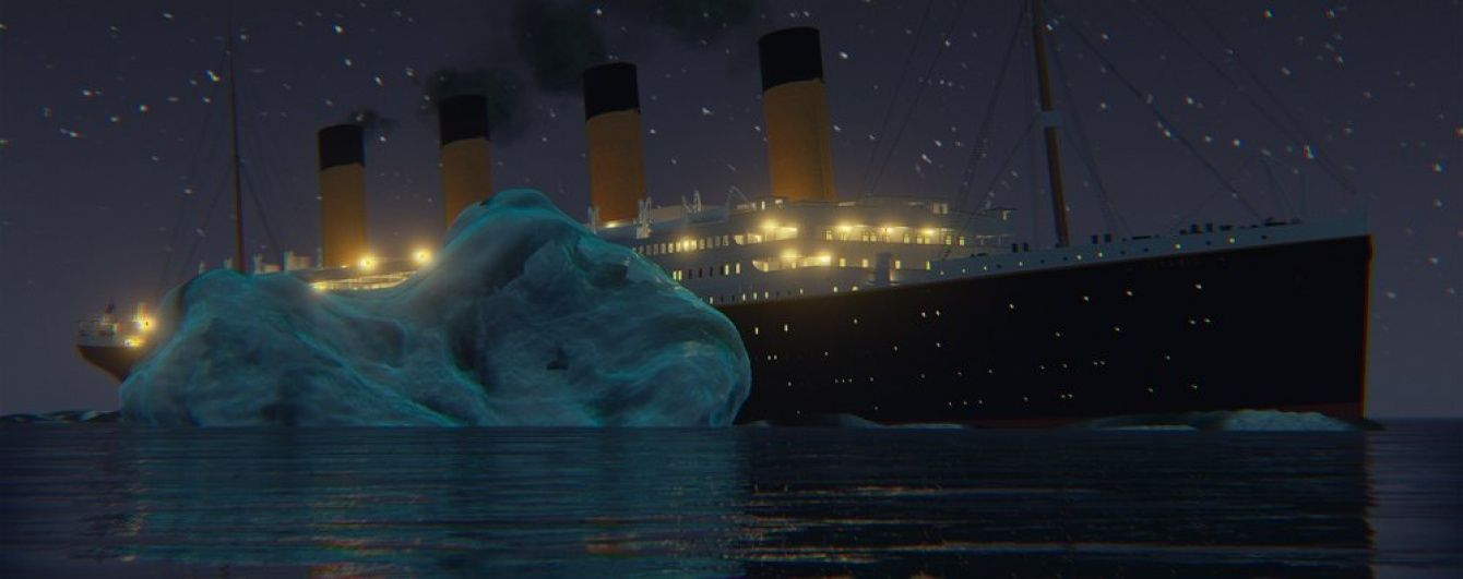 """Катастрофа """"Титаніка"""" в реальному часі. З'явилося тригодинне відео загибелі лайнера"""
