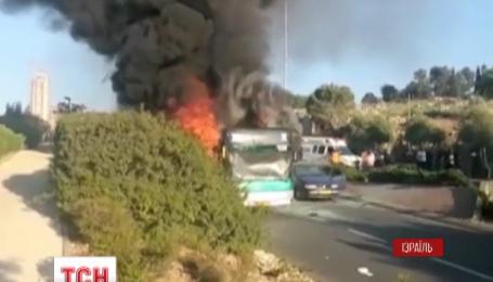 В Иерусалиме взорвался автобус