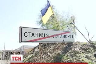 Бойовики вперше від початку режиму тиші обстріляли Станицю Луганську