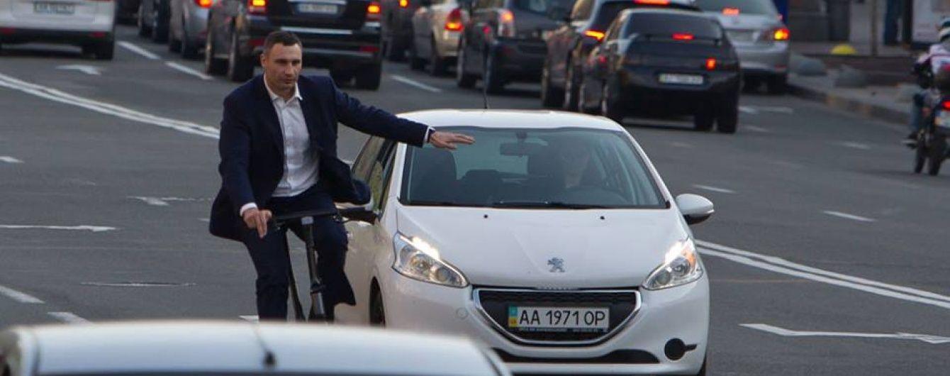 Альтернативний транспорт: все більше киян воліють їздити на роботу на великах