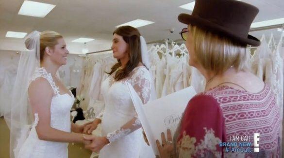 Кейтлін Дженнер у весільній сукні