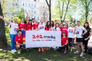 Команда 1+1 media своїм бігом зібрала понад 80 тисяч гривень для хворих малят