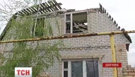Марьинка попала под обстрел боевиков